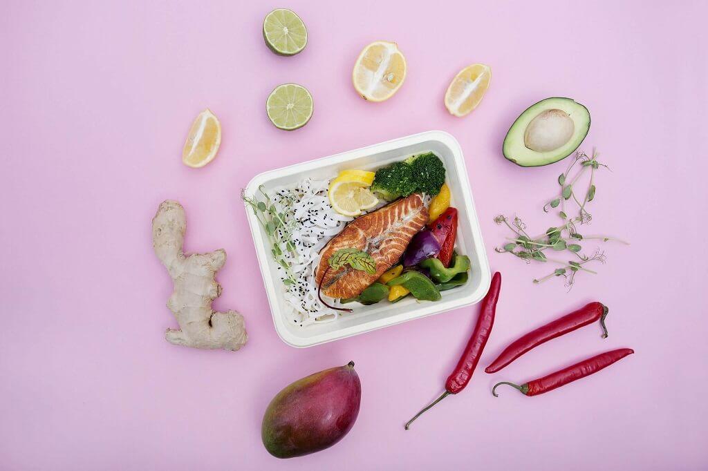Dieta w pudełku od cateringu dietetycznego Cud i Miód