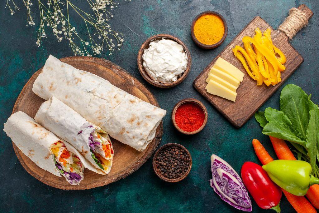 wegetariański catering dietetyczny