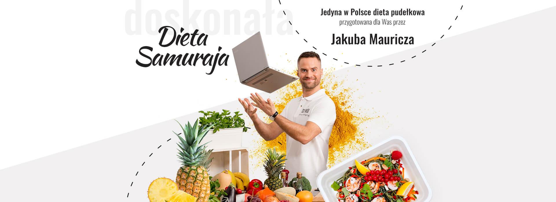 Dieta samuraja by Jakub Mauricz - Cud i Miód