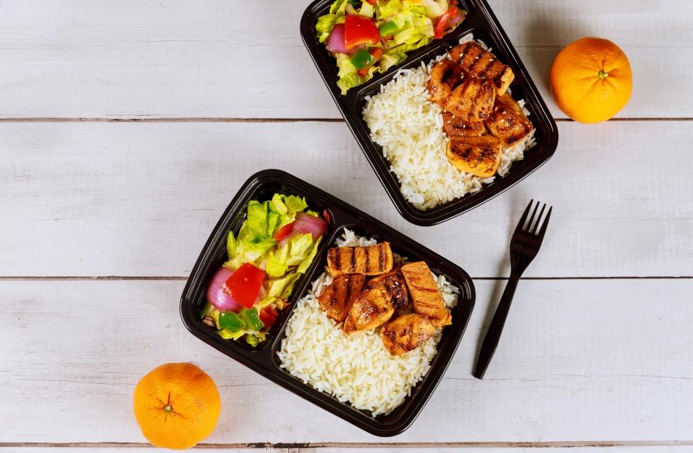 jedzenie do pracy - dieta box